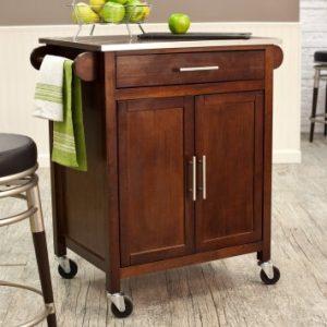 microwave cart home styles solid wood kitchen island kitchen design photos